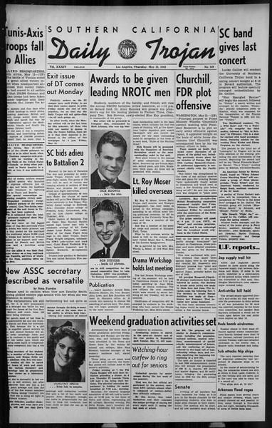 Daily Trojan, Vol. 34, No. 146, May 13, 1943