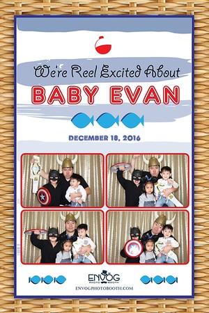 Welcome Baby Evan (prints)