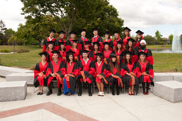 Graduation - Sunnyvale May 2011 - Group