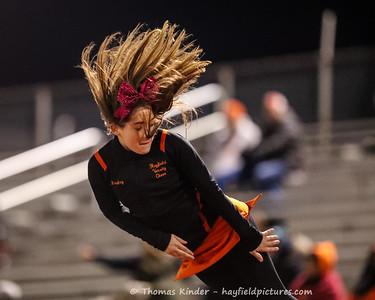 Varsity Cheer 10/25/18 at Annandale Football Game