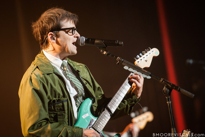 Rivers Cuomo of Weezer performs on November 9, 2012 at The Mahaffey in St. Petersburg, Florida