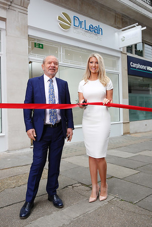 14/6/19 - Offical opening of Dr Leah Cosmetic Skin Clinic on Baker Street