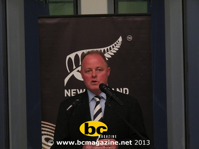 New Zealand Sevens Reception - 21 March 2013