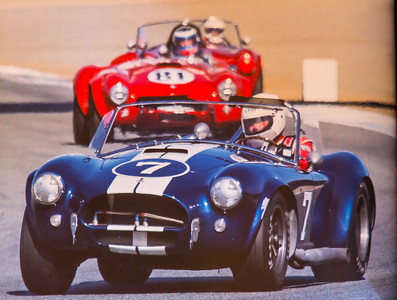 Cobra 289 AC Shelby CSX2534 1964 USRRC  FIA  Competition