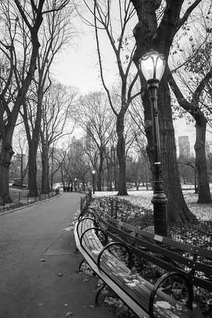 New York's Upper East Side in Winter
