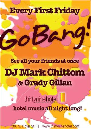 Go Bang! @ thirtynine Hotel-Hawaii 9.4.09