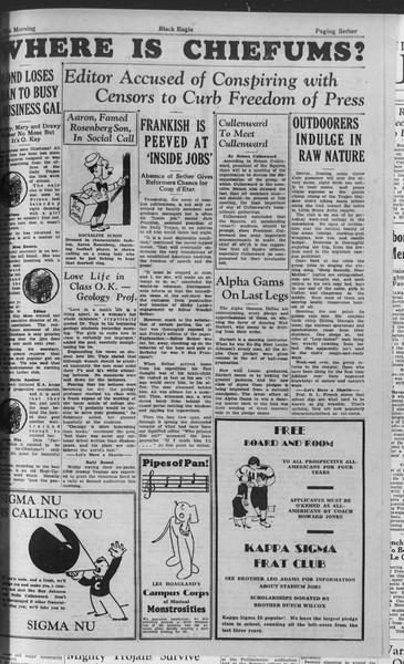 The Vulture, Vol. ??, No. 2, November 01, 1933
