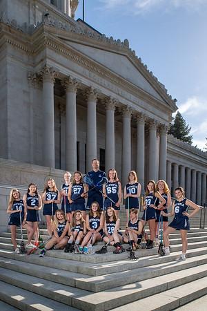 Olympia girls team