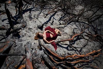 Sarah at Haines Canyon
