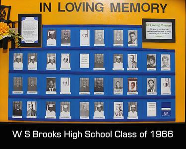 W S Brooks Class of 1966