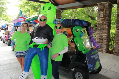 Golf Cart Parade 7-2-21