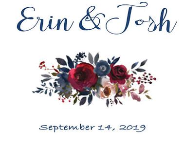 14-09-2019 ~ Josh and Erin Wedding