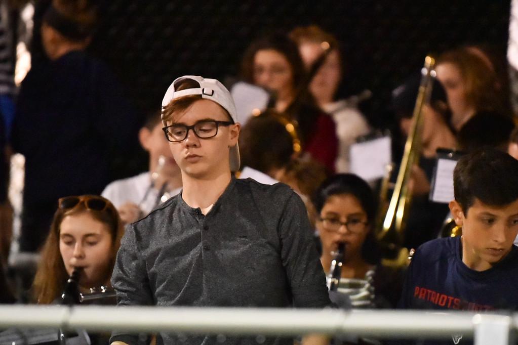 . Littleton Tigers take on Hudson at the Littleton Middle School on Friday.  Sun/Jeff Porter