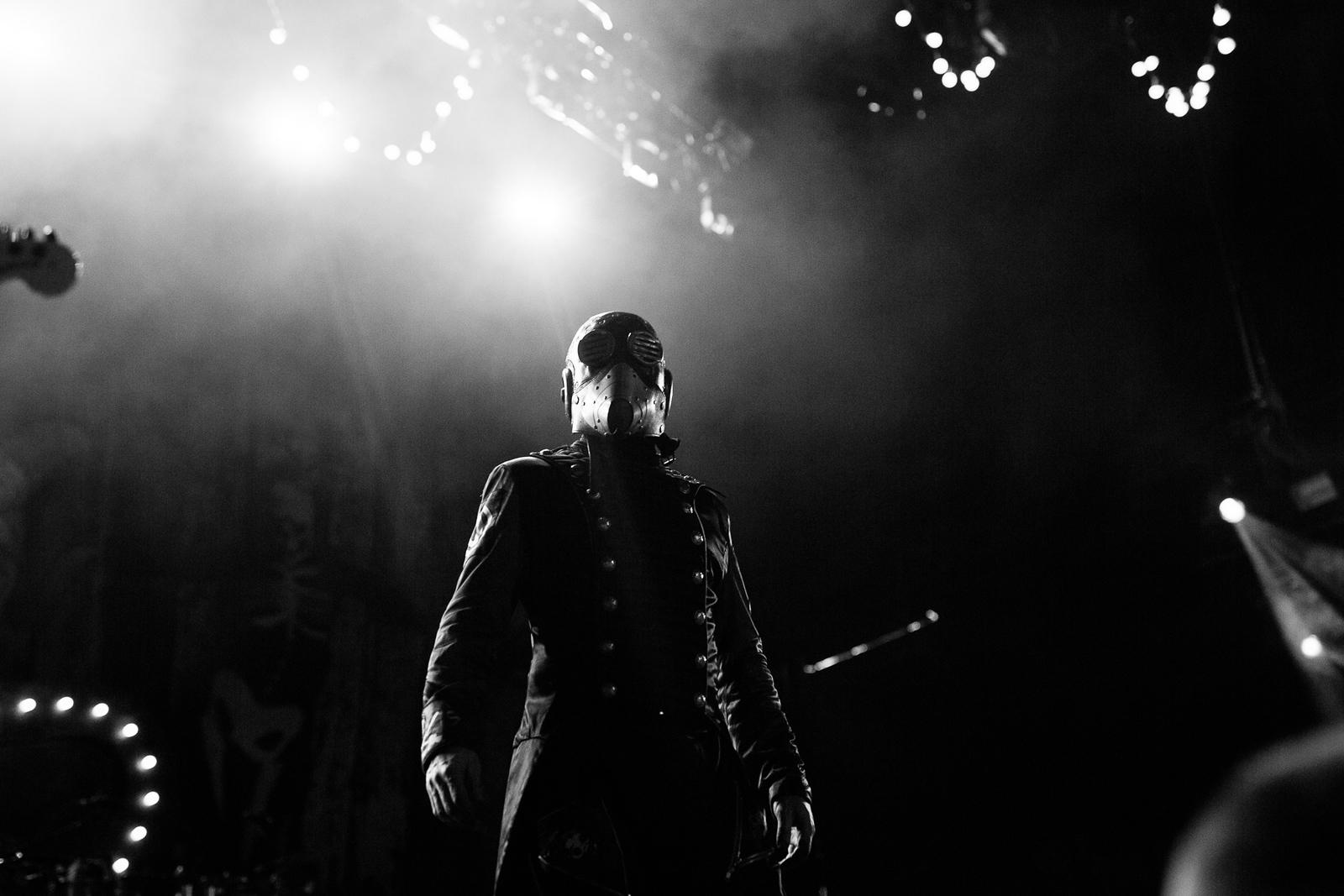 Sid Wilson of Slipknot by Adam Elmakias