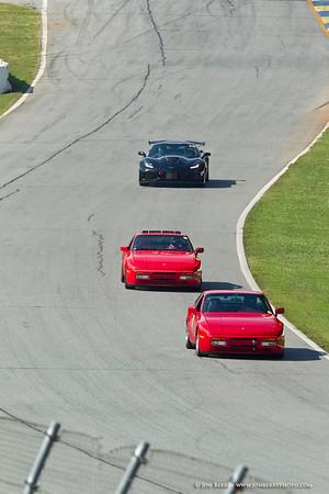 Road Atlanta Porsches