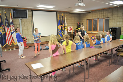 May 2, 2013 - Daisy Troop Fire Station Tour