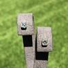 .54ctw Asscher Cut Diamond Bezel Stud Earrings, Platinum 6
