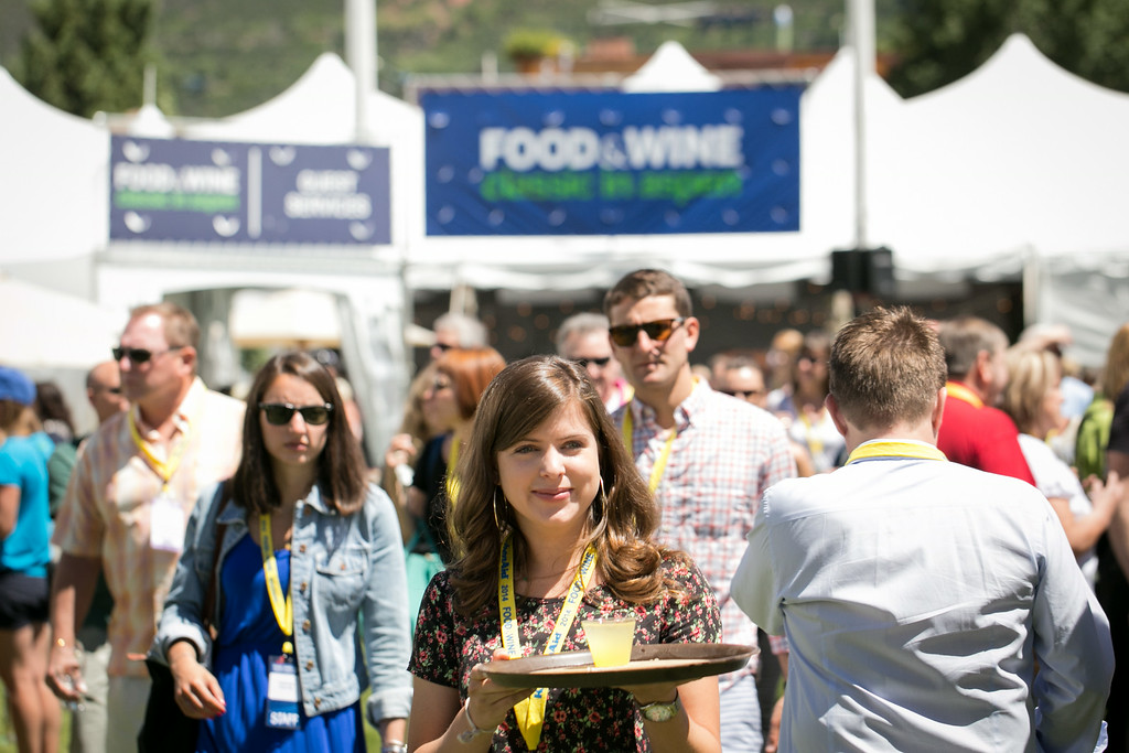 . The 32nd annual Food & Wine Classic in Aspen drew more than 5,000 people.(Provided by Galdones Photography/FOOD & WINE)