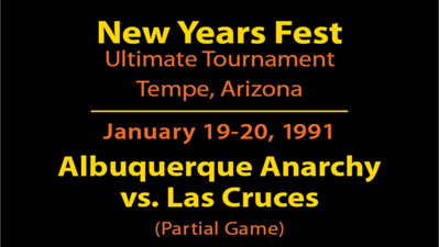 1991 NYF - ABQ vs. Las Cruces