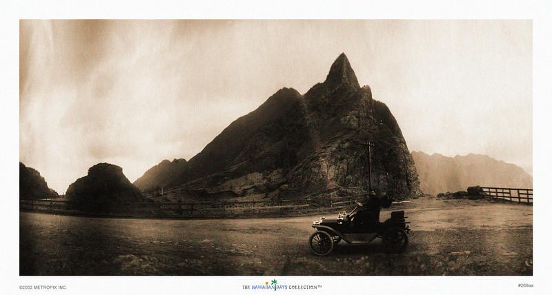 269: 'Pali' From a sepia toned photograph, ca 1912.