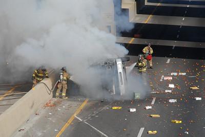 Crash on 99 4-29-07