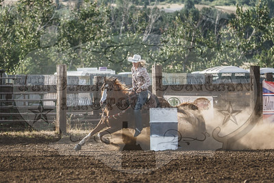 Adams County Rodeo - Slack and Queen Barrels