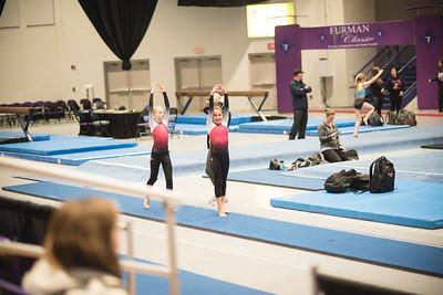 Kloe- 1st gymnastics meet 2018