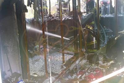 Westbury F.D Working Fire  Sheridan St. 6/19/17