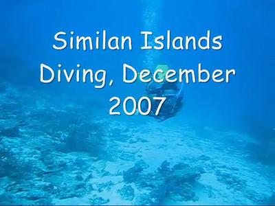 December 07: Similans Music Video
