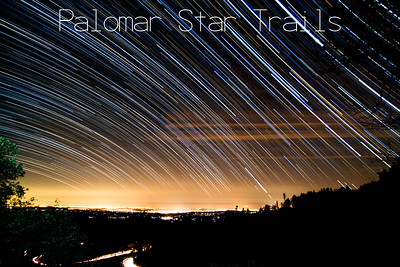 Palomar Star Trails
