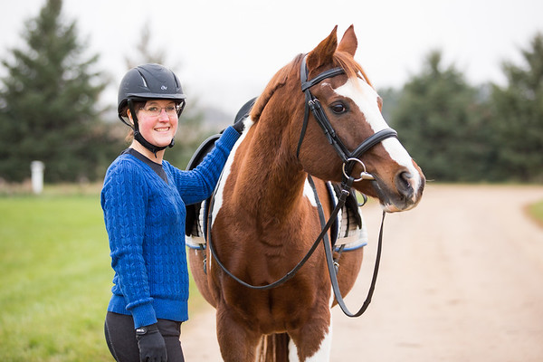 Annie and Riot- Equine