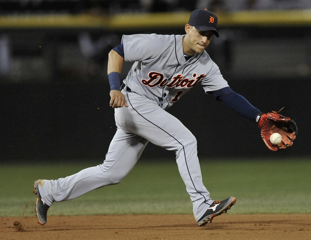 ". <p>8. JOSE IGLESIAS <p>We�re not a doctor, but if you have stress fractures in both legs, you�ve probably got too much stress. (unranked) <p><b><a href=\'http://www.twincities.com/sports/ci_25360730/jose-iglesias-detroit-shortstop-has-stress-fractures-both\' target=""_blank\""> HUH?</a></b> <p>    (AP Photo/Paul Beaty, File)"