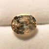 9.44ct Oval Peach Sapphire, with GIA No-Heat 12