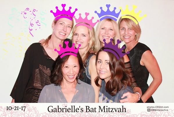 2017-10-21 Gabrielle's Bat Mitzvah