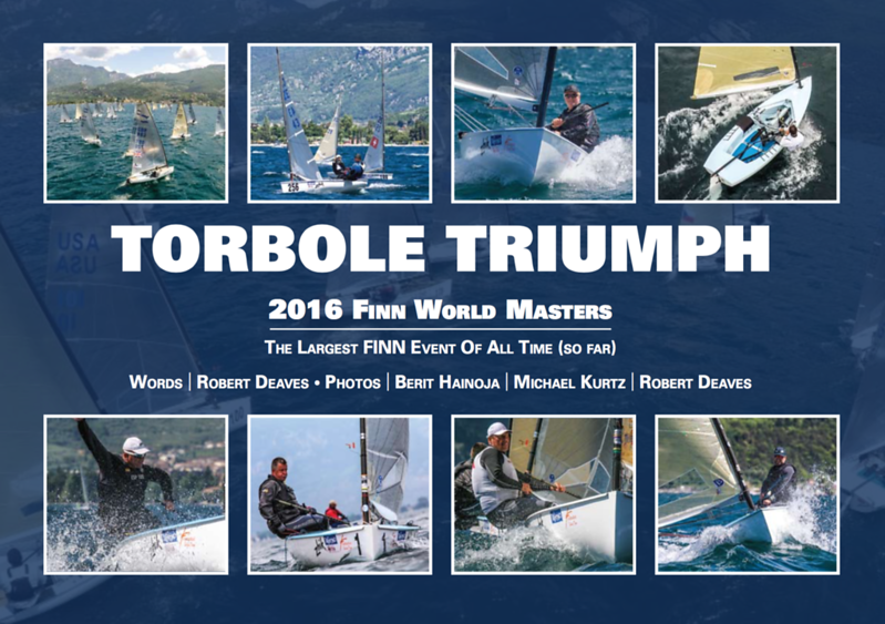 Book covers from the  2017 OK Dinghy World Championship in Barbados