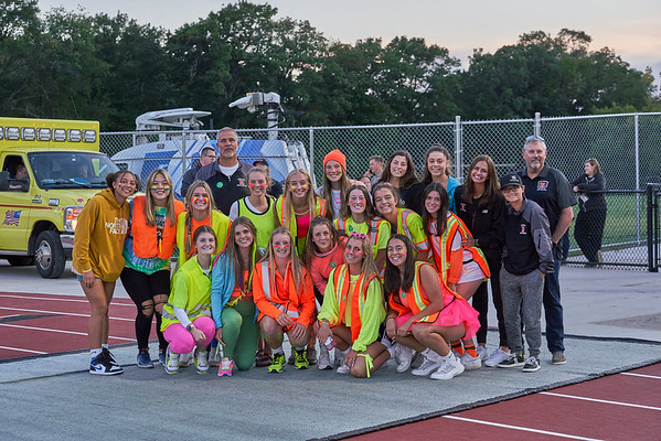Rockford Football Neon Night with LAX recognition
