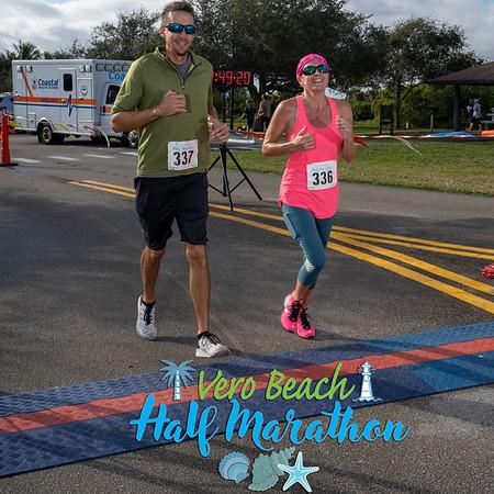 Vero Beach Half Marathon and Sea Turtle 2 Miler