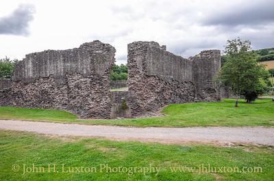Skenfrith Castle and Village