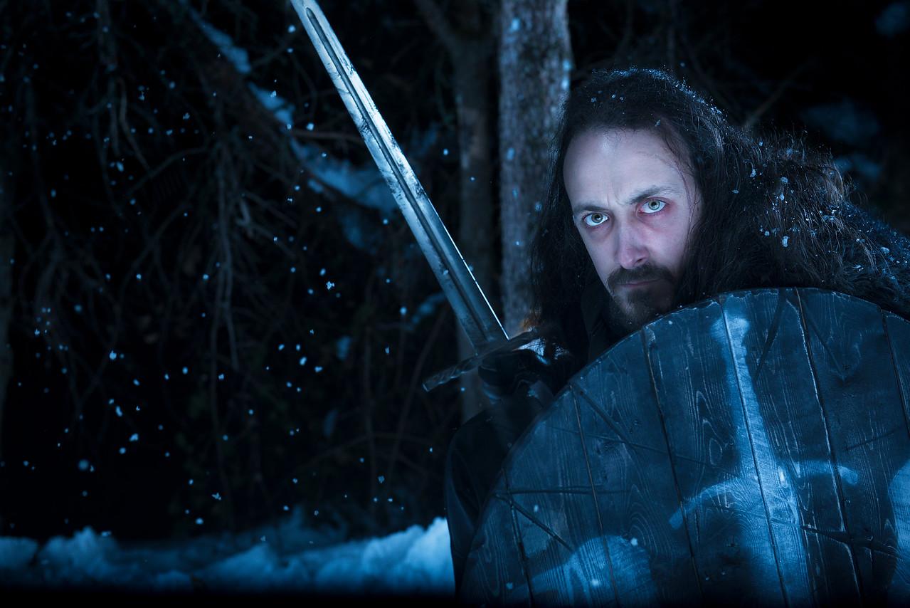 Portrait of Benjen Stark