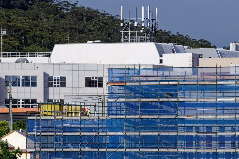 Gosford Hospital building progress November 27, 2018.  (h70ed)
