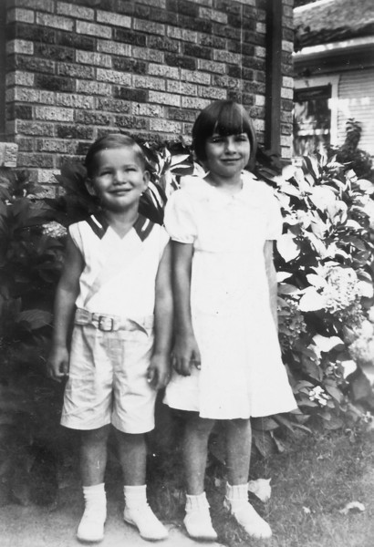 George Jr. and Maria Jacob  circa 1934 1102 Omar Houston, Texas