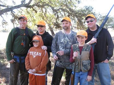 FAMILY QUAIL HUNTS CHRISTMAS 2009