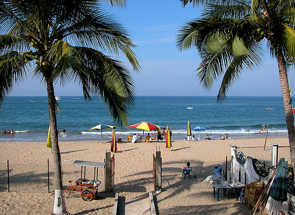 Jan 2006 - View from deck of our room at Hotel el Delphin