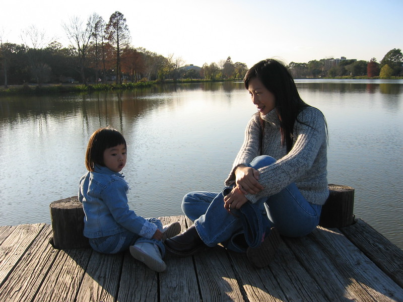 2004-1-Esther&Mom-lsu lake.jpeg