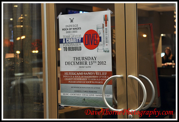 """Indulge """"Rock of Wages"""" Fundraiser for Dive!  Dec 2012"""