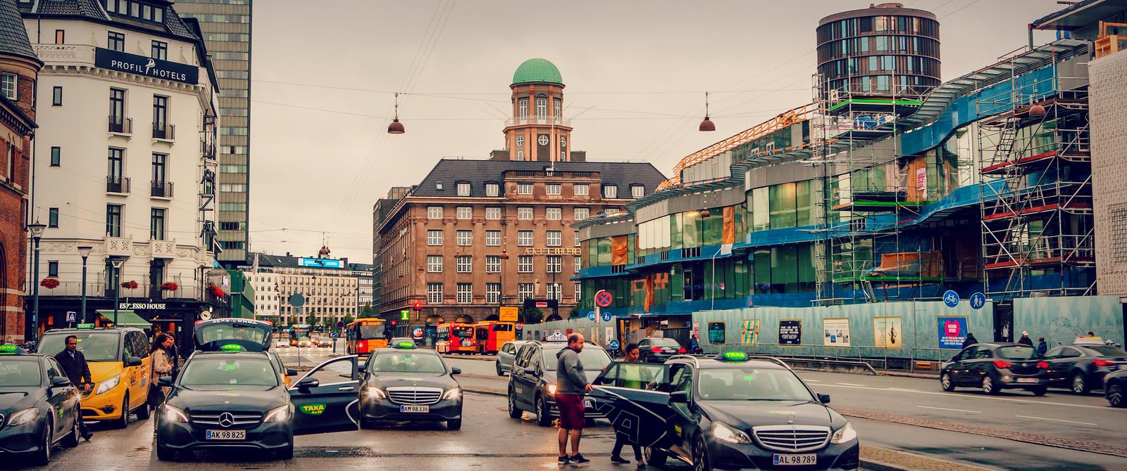丹麦哥本哈根,街景扫描