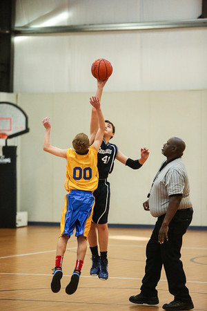 Feb 15 - BBall - 6th Gr Boys vs SEAS G