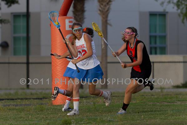 Boone Girls JV Lacrosse 2011 - #12