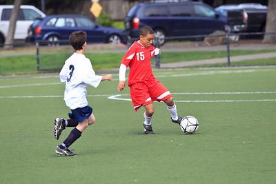 RCS MS Boys' Soccer vs Baymont - March 25, 2011