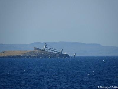 Wreck of NORDLAND Kythera 16 Sep 2018